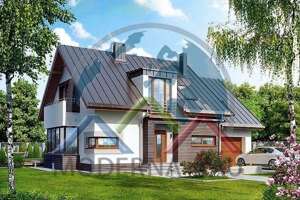 Moderna-Bau maison écologique KH 123