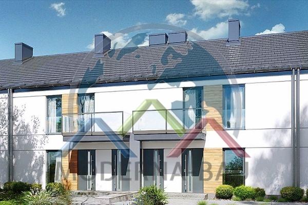 Moderna-Bau Reihenhaus KR 18