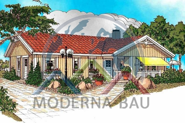 Moderna-Bau maison écologique Breviken