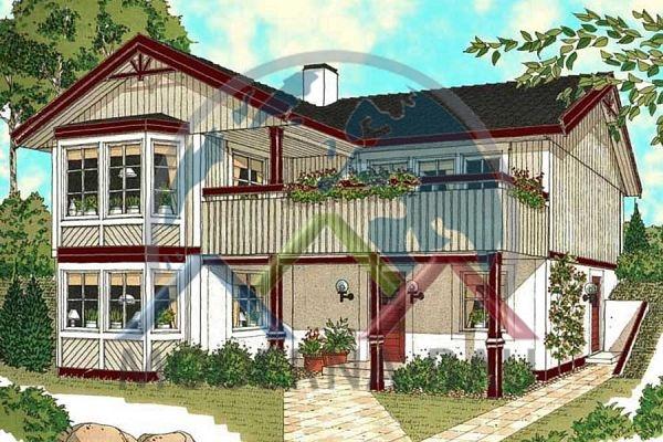 Moderna-Bau maison écologique Skapafors