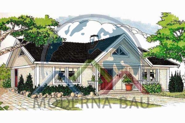 Moderna-Bau maison écologique Rofors